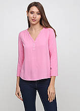 Рожева однотонна блуза H&M демісезонна