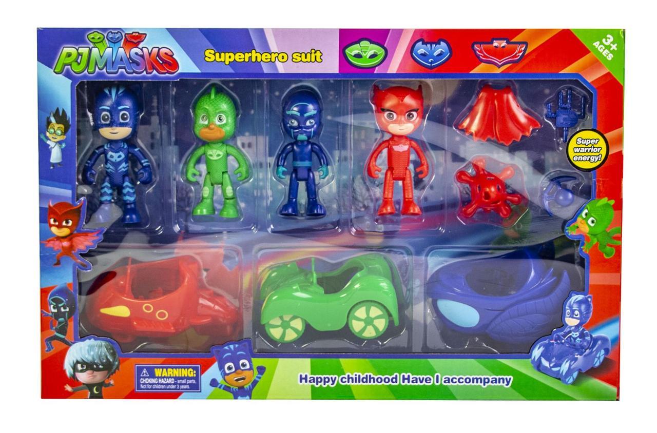 Игровой набор мультяшных героев 3363 на своем транспорте .