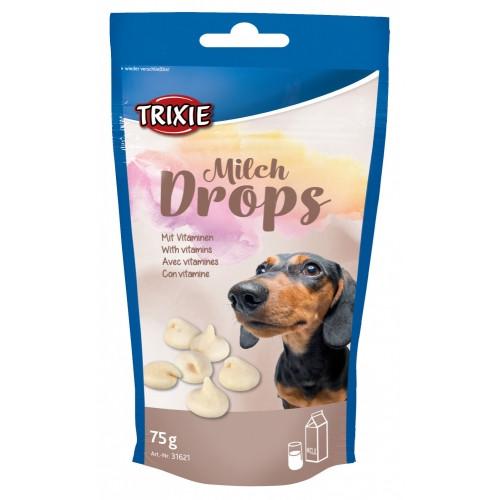 Ласощі для собак та цуценят trixie Drops молочні