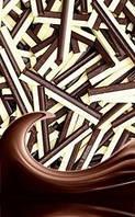 Посыпки из шоколада — Палочки темные-белые