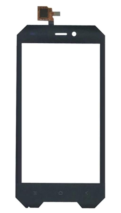 Touchscreen (сенсор) для смартфона Blackview BV4000 Pro Чорний