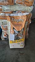 Полноценный сухой корм для взрослых котов и кошек Трофи Испания мешок 20 кг