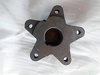 Ступица колеса в сборе 5 осей (16 колесо) КПП мототрактора 12-15 л.с.