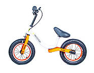 Велобег Star Scale Sports. Бело-оранжевый цвет., фото 2