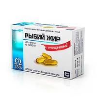Рыбий Жир очищенный 700мг.30кап. РеалКапс Россия