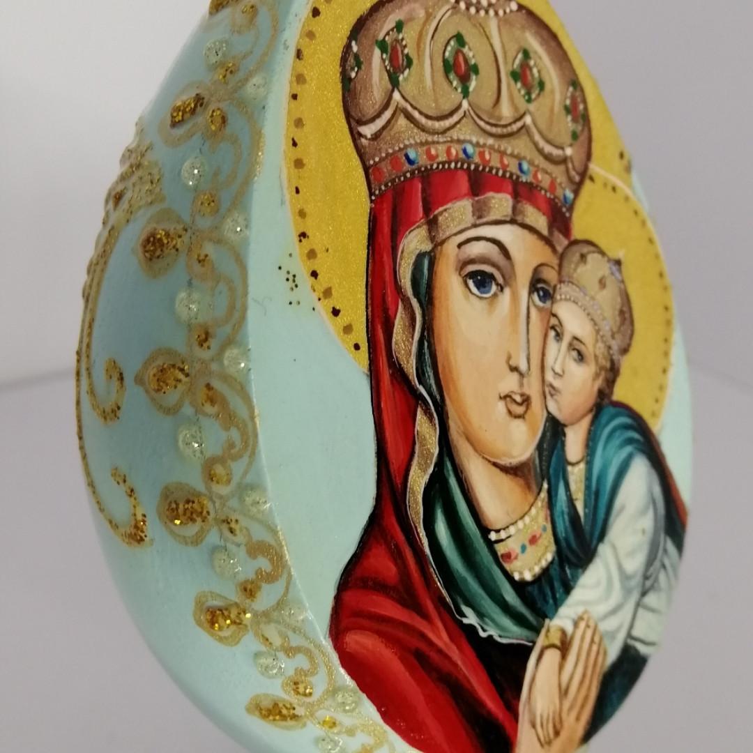 Яйцо Пасхальное на подставке, ручная роспись