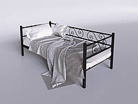 Односпальная диван-кровать металлическая Амарант