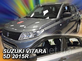 Дефлекторы окон (ветровики)   Suzuki Vitara II 2014->  4шт (Heko)