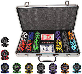 "Набор покера ""Elite Poker Tournament 300"" с фишками 14 грамм"