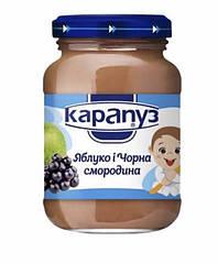 Пюре Карапуз Яблоко-черная смородина 200 гр. с 4 мес