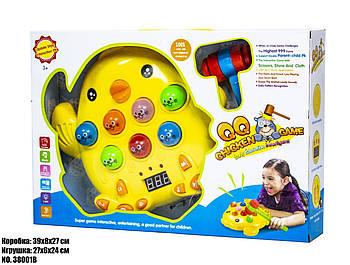 Детская музыкальная игрушка Цыпленок 38001B .