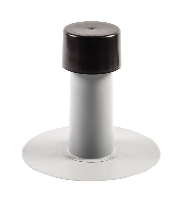 Аэратор кровельный Impertek ф 75мм, H 240мм для ПВХ мембранн  флюгарка