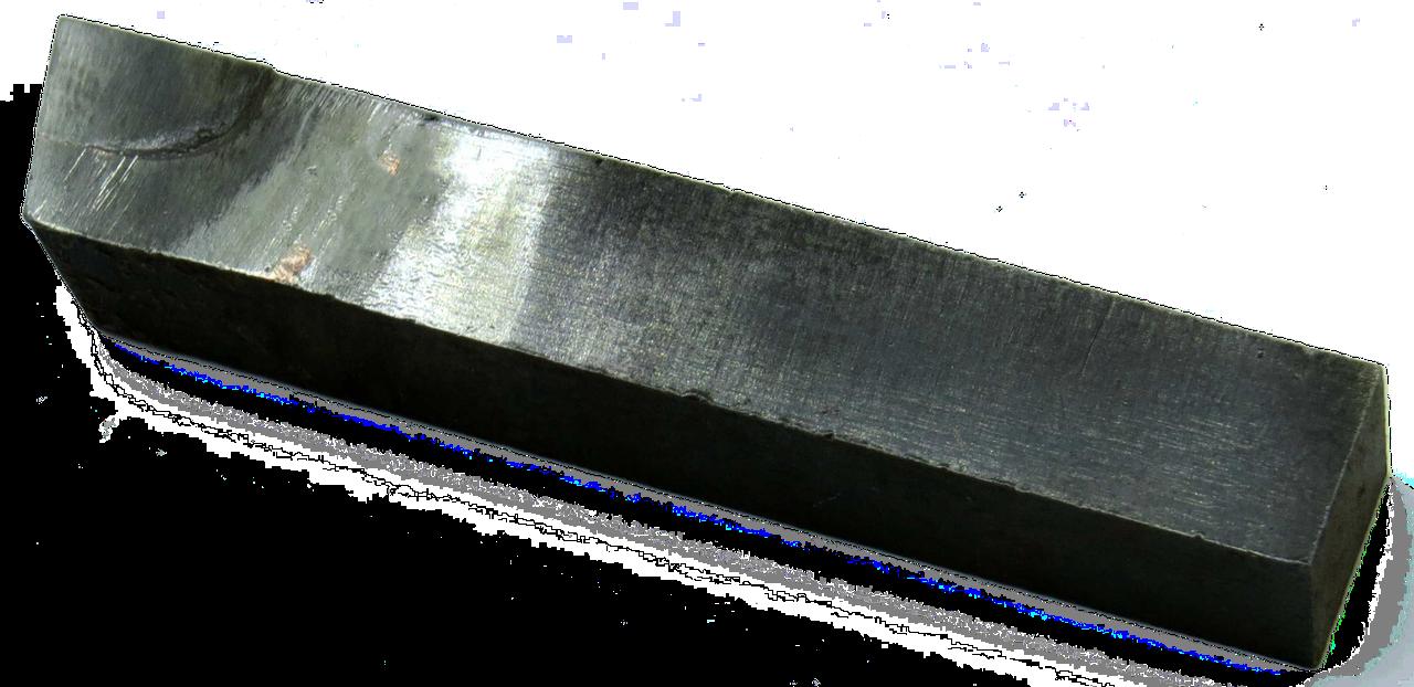 Резец проходной упорный-прямой 12х12х70 Т5К10 левый ГОСТ 18879-73