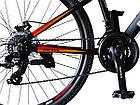 Велосипед спортивний Impuls 26 RIO чорно-помаранчевий, фото 2