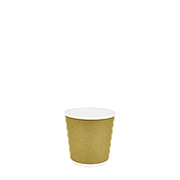 Одноразовый стакан двухслойный, серия Крафт Ф 110мл. 15шт/уп (1ящ/54уп/810шт)