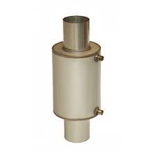 Теплообменник на трубу дымохода 120 мм 15 литров