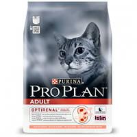 Сухой корм Purina Pro Plan Cat Original Adult Salmon для кошек, с лососем, 1.5 кг