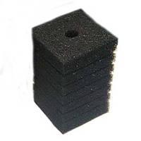 Фільтруючий матеріал Resun губка, середньо пориста, 35ppi, 8х8х14см