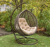 Большое подвесное кресло кокон качалка Веста ЮМК