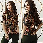 """Жіноча рубашка """"Морська"""" від Стильномодно, фото 6"""