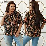 """Жіноча рубашка """"Морська"""" від Стильномодно, фото 5"""