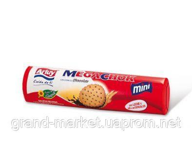 Печенье сэндвич Arluy Megachok с шоколадной начинкой 160 г
