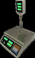 Весы торговые Днепровес ВТД-ЕД (ЖК) до 30 кг