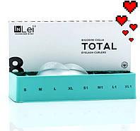 Набор силиконовых бигуди Total In Lei 8 пар для ламинирования ресниц