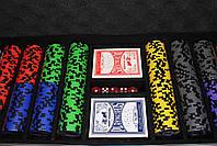 "Набор для покера ""Elite Poker Tournament 500"" фишки с номиналом, фото 4"