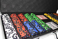 "Набор для покера ""Elite Poker Tournament 500"" фишки с номиналом, фото 5"