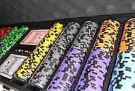 "Набор для покера ""Elite Poker Tournament 500"" фишки с номиналом, фото 6"
