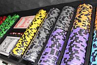 "Набор для покера ""Elite Poker Tournament 500"" фишки с номиналом, фото 7"