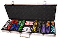 "Набор для покера ""Elite Poker Tournament 500"" фишки с номиналом, фото 8"