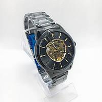 Часы мужские механические MegaLith 8210M, цвет черный с золотом ( код: IBW313BY ), фото 1