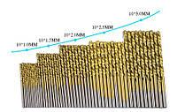Набор спиральных сверл Хcan для работы по металлу, дереву 50 шт, фото 1