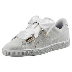 """Жіночі кросівки (SNEAKERS) Puma Suede BASKET """"Heart Satin"""" (362714 02)"""