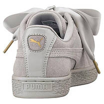 "Женские кроссовки (SNEAKERS) Puma Suede BASKET ""Heart Satin"" (362714 02), фото 2"