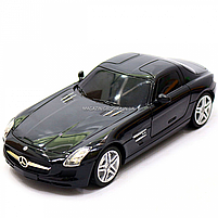 Игрушка машина автопром на радиоуправлении Мерседес Бенц Черный Mercedes-Benz SLS (8822), фото 4
