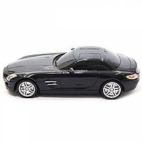 Игрушка машина автопром на радиоуправлении Мерседес Бенц Черный Mercedes-Benz SLS (8822), фото 5
