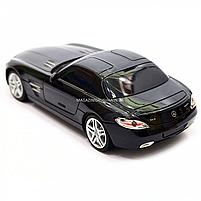 Игрушка машина автопром на радиоуправлении Мерседес Бенц Черный Mercedes-Benz SLS (8822), фото 6