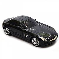 Игрушка машина автопром на радиоуправлении Мерседес Бенц Черный Mercedes-Benz SLS (8822), фото 7