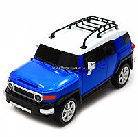 Игрушка машина автопром на радиоуправлении Тойота Toyota FJ Cruiser Синий (8811), фото 4