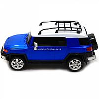 Игрушка машина автопром на радиоуправлении Тойота Toyota FJ Cruiser Синий (8811), фото 5