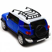 Игрушка машина автопром на радиоуправлении Тойота Toyota FJ Cruiser Синий (8811), фото 6