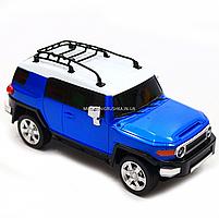 Игрушка машина автопром на радиоуправлении Тойота Toyota FJ Cruiser Синий (8811), фото 7