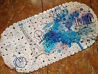 Банный коврик антискользящий резиновый 35*69 см