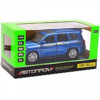 Машинка игровая автопром «Toyota Land Cruiser» металл, 14 см, (свет, звук, двери открываются) 6608, фото 2