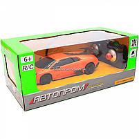 Машинка ігрова автопром на радіокеруванні Lamborghini LP670 помаранчевий (8820), фото 4