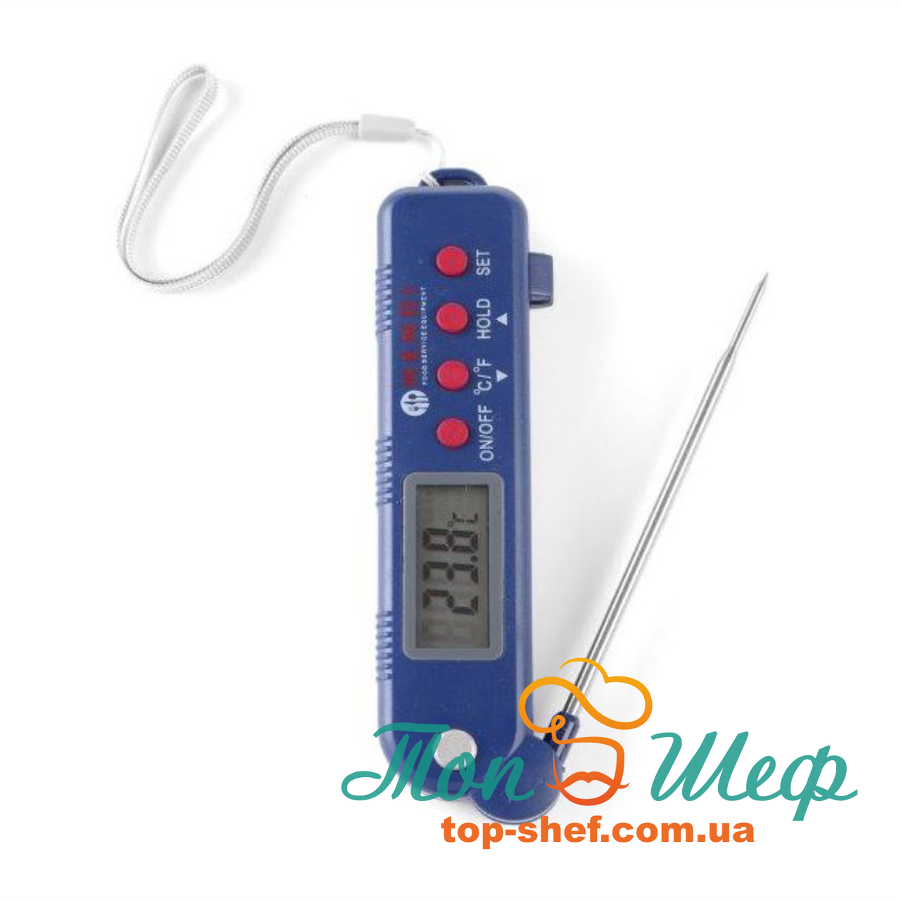Термометр цифровой со складным зондом Hendi 271308