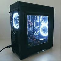 Игровой компьютер SMART (Процессор i5-4670 / Память 8GB / SSD 120GB + 500GB HDD / Видеокарта RX550 2G)